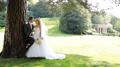 A very pink wedding at Wotton House