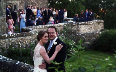 James + Ellie's classical and elegant wedding at Lympne Castle, Kent