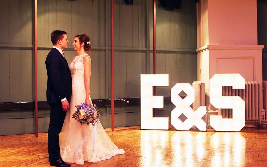 Stuart + Emma's Indie Rock Wedding at Queen Mary's University, London
