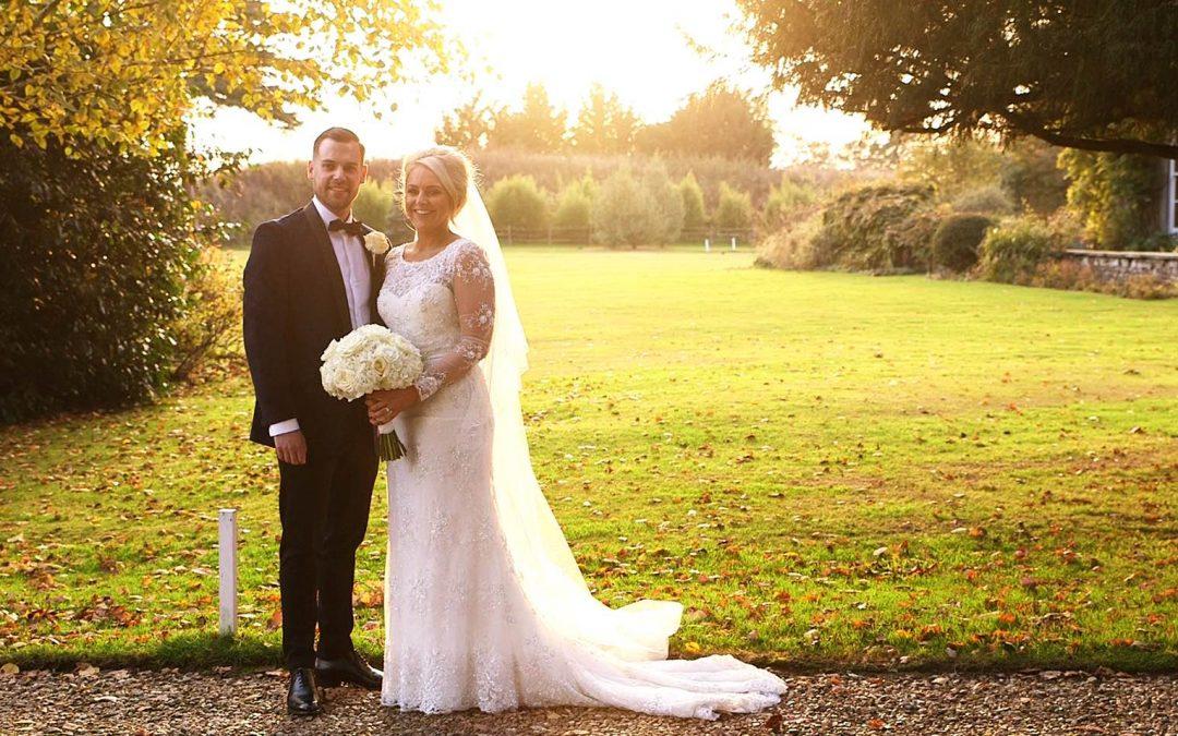 Joe + Jorja's Winter Wedding at Northbrook Park, Surrey Wedding Film