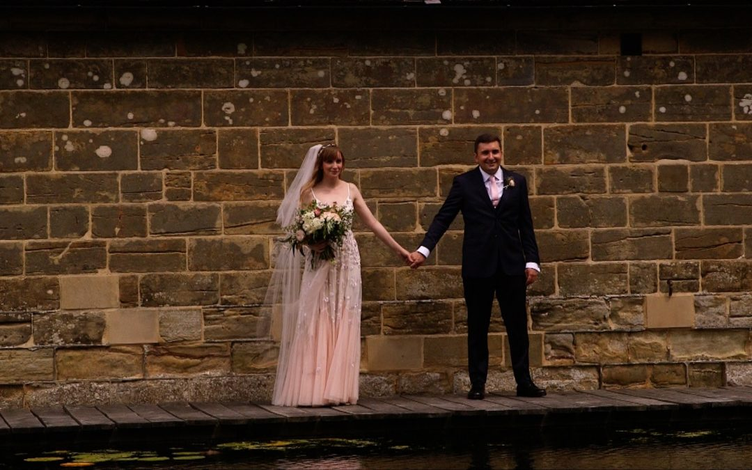 EJ + Harriet's Blush and Rose Gold Hendall Manor Barn Wedding