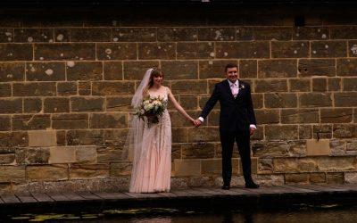EJ + Harriet's Blush and Rose Gold Hendall Manor Barn Wedding