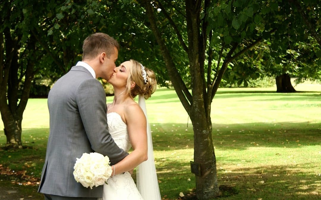 Jonathan + Hannah's Fun and Quirky Wedding Video at Chilston Park, Kent