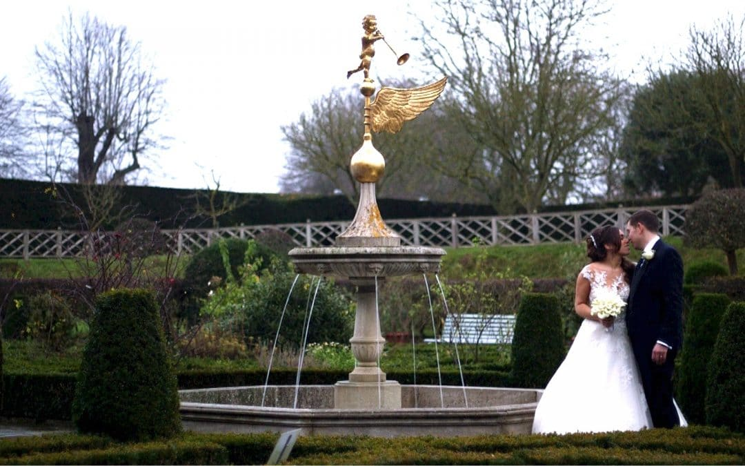 Alex + Nicola's Hatfield House Winter Wedding Film