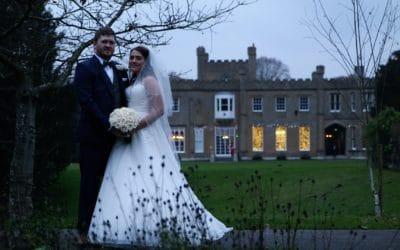 Liam & Beckie's Winter Wedding at Nonsuch Mansion, Surrey