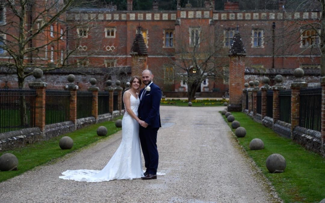 English country wedding video