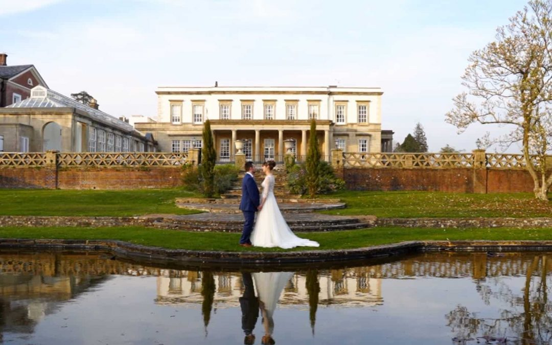Josh + Kim's Spring Easter themed wedding at Buxted Park, East Sussex
